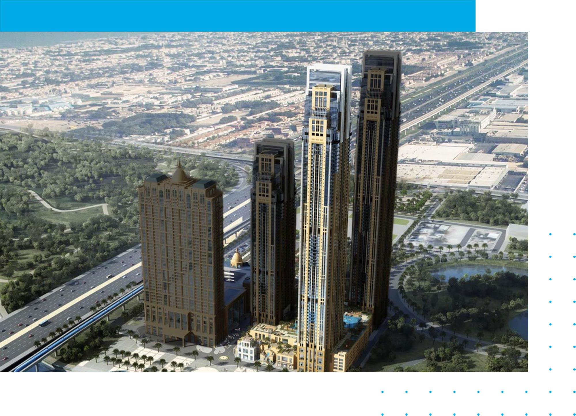 برج نورة في مدينة الحبتور: شقق للبيع في دبي