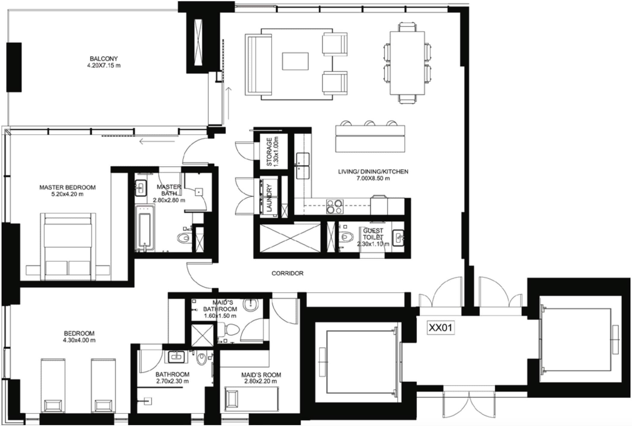 ONE JBR Apartments for Sale by Dubai Properties (1/JBR in Jumeirah Beach Residence)