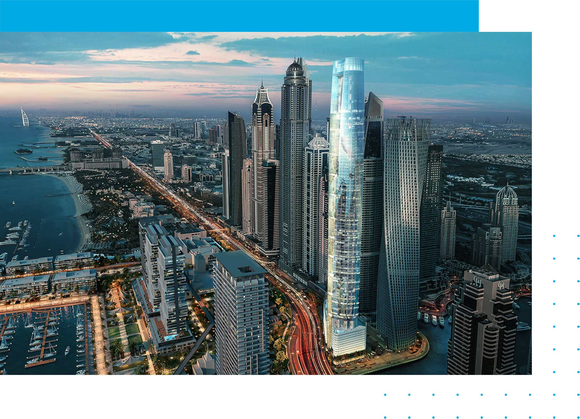Ciel Tower in Dubai Marina: Studio Apartments for Sale in The World's Tallest Hotel