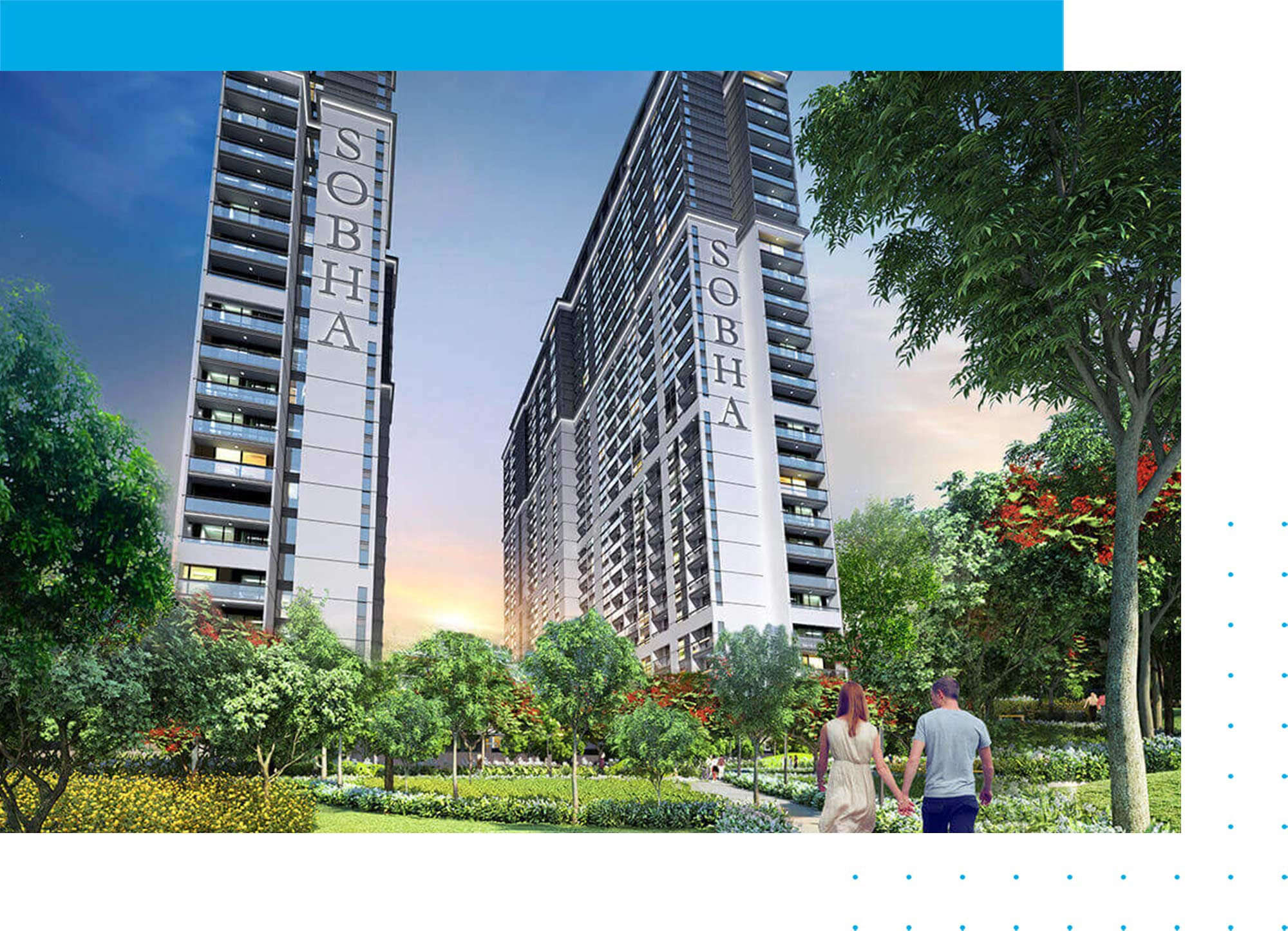 Sobha Creek Vistas Apartments in MBR City Dubai
