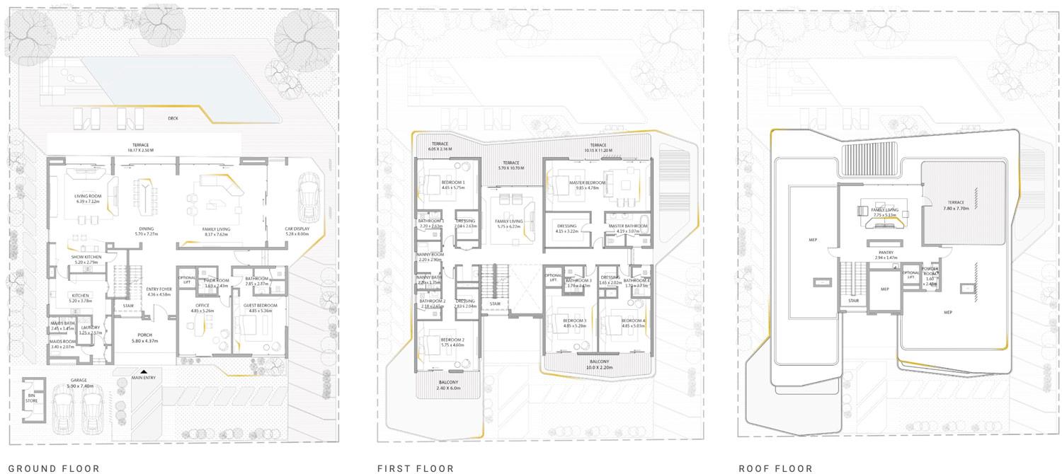 فلل إعمار دبي هيلز فيستا في دبي هيلز استيت - فلل للبيع